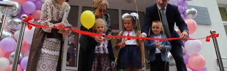 Кличко відкрив сучасну енергоефективну школу в Солом'янському районі столиці