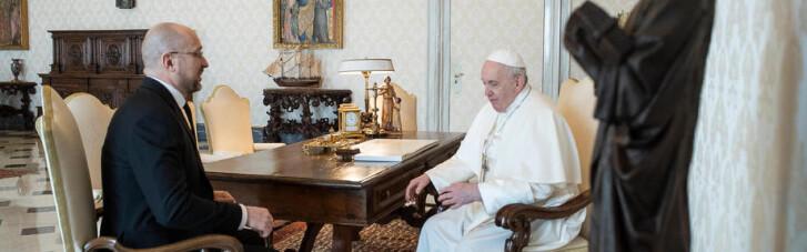 Шмигаль в гостях у Папи Франциска: стали відомі деталі розмови