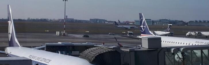 В Варшаве на самолете из Киева сработала тревога: искали взрывчатку