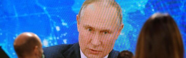 """Путін """"нарахував"""" у минулому році понад 400 шпигунів у Росії"""