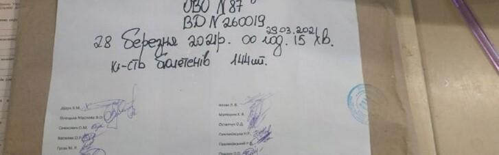 """На дільниці в окрузі №87 в Івано-Франківській області зникли 47 бюлетенів, — """"ОПОРА"""""""