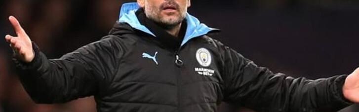 """Гвардьола обещает не уходить из """"Манчестер Сити"""" и ругается на """"Барселону"""""""