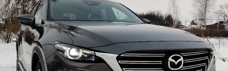 Mazda CX-9: кнопка решает