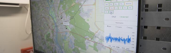 У Києві цьогоріч запрацюють ще три пости моніторингу повітря