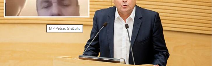 З голим чоловіком в кадрі: в Литві депутат-гомофоб осоромився на онлайн-нараді (ФОТО ВІДЕО)