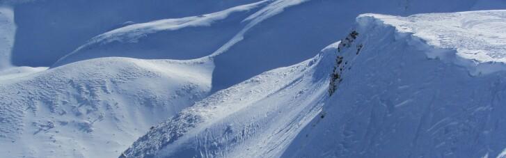 В Карпатах возможны снежные лавины — туристов просят не рисковать