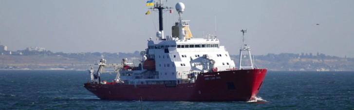 """Криголам """"Джеймс Кларк Росс"""" уже в Одесі. Як Україна буде досліджувати Світовий океан"""