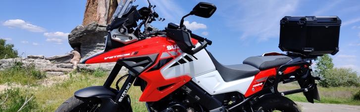 Универсальный солдат. Почему Suzuki V-Strom 1050 XT станет идеальным мотоциклом и в городе, и на бездорожье