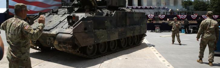 Трамп играет в танки. Не заразился ли он от Путина?