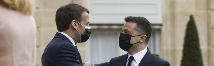 Броманс з Макроном за спиною у Меркель. Навіщо Зеленський побував у Парижі