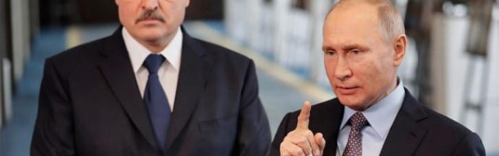Домовилися: Путін виділить Лукашенку півмільярда доларів