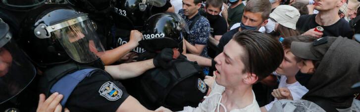 Контролируемый протест. Кто и зачем делает великомученика из одессита Стерненко