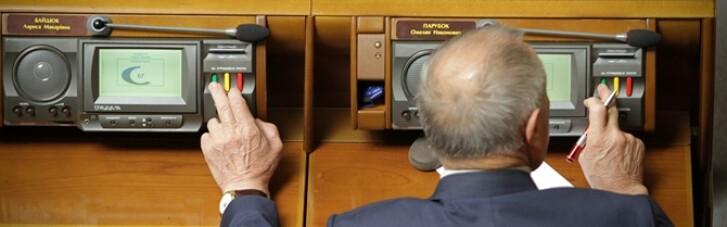 """Разумков пояснил, что будет с нардепами, пойманными на """"кнопкодавстве"""""""