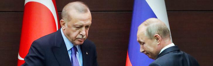 Путін перед візитом Зеленського до Туреччини зателефонував Ердогану
