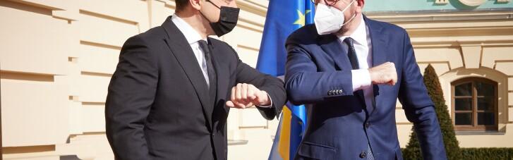 Зеленський проінформував голову Євроради про ситуацію на сході Україні