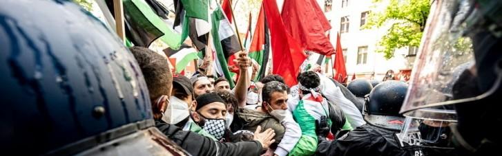У Берліні на протестах на підтримку Палестини затримали 59 осіб: 93 поліцейських постраждали