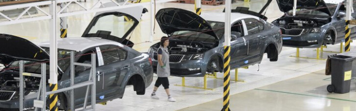 Автопроизводство в Украине за месяц упало почти в пять раз