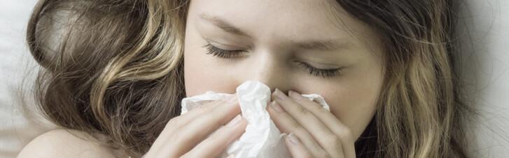 В Украине растет заболеваемость гриппом и ОРВИ
