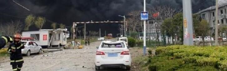 В результаті вибуху на фармацевтичному заводі в Китаї загинули двоє людей