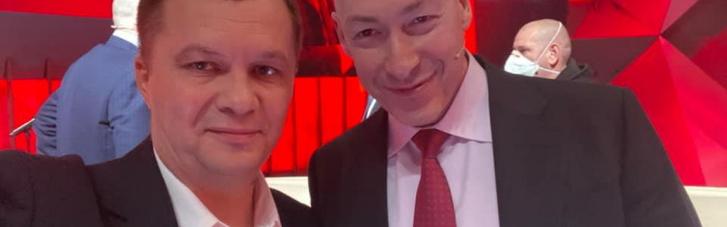 """""""Зарили томагавк війни"""":  Мілованов зробив спільне фото з Гордоном після суперечки в ефірі"""