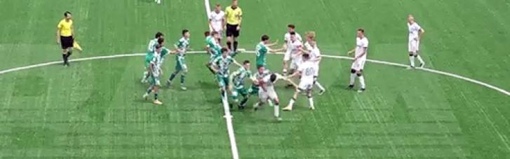 Футболісти Кадирова влаштували масову бійку з москвичами, дісталося навіть арбітру (ВІДЕО)