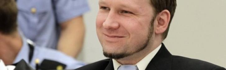 Норвезького терориста Брейвіка, який вбив 77 людей, можуть умовно-достроково звільнити