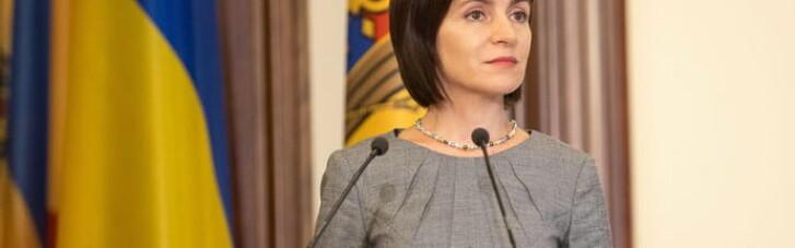 Политический кризис в Молдове: Украина поддерживает президента Санду