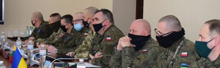Делегація польських військових відвідала окупований Донбас (ФОТО)