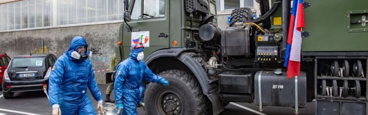 Njet, spasibo. Італійський уряд не продовжить російську військову місію