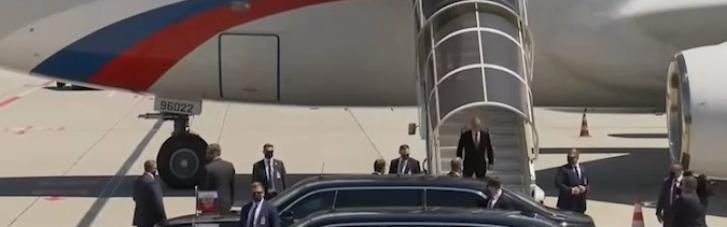 Путин прибыл в Женеву (ВИДЕО)