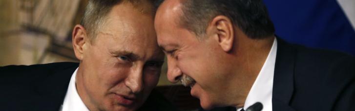 Ердоган скаржився Зеленському на шантаж з боку Путіна, — ЗМІ