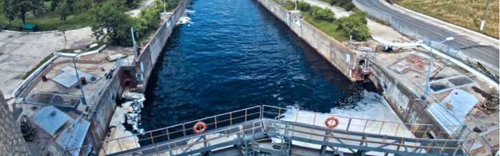 В Украине возобновляют речной транспорт: на Днепре началось шлюзование