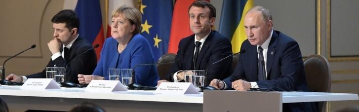 Зеленський поговорить про Донбас з Меркель і Макрона без Путіна, — ЗМІ