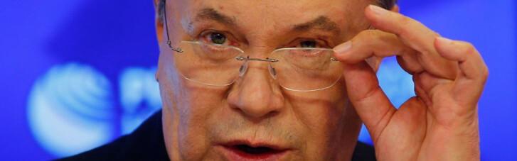 Беглый Янукович собрался в Украину