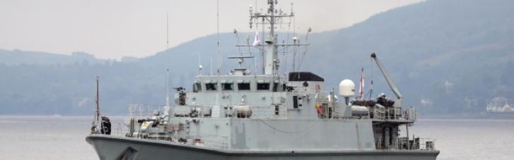 Британія передасть ВМС України два кораблі класу Sandown