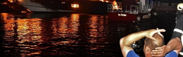На пристані у Хорватії згоріли десятки яхт: збитків на мільйони євро (ФОТО, ВІДЕО)