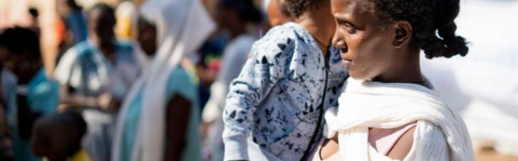 Військовий конфлікт в Ефіопії: 400 тисяч людей голодують