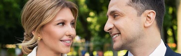 Зеленський привітав дружину власним віршем