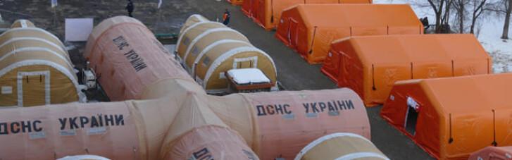 Мобильный COVID-госпиталь во Франковске уже пустует, — Аваков
