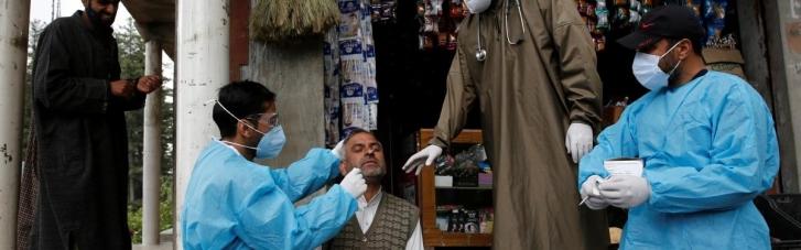 Індія зробила мільярд щеплень від COVID-19