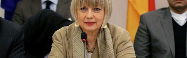 Генсек ОБСЄ закликала відвести сили й озброєння на Донбасі і провести розмінування