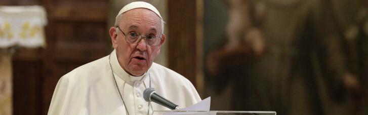 Папа Франциск закликав припинити біганину і вимкнути мобільні