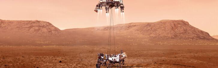 NASA показало первое видео с Марса