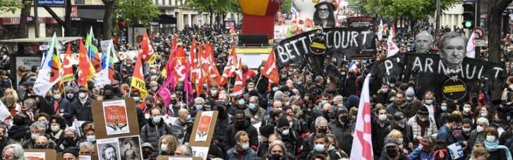 У Франції на першотравневій демонстрації відбулися зіткнення, є затримані