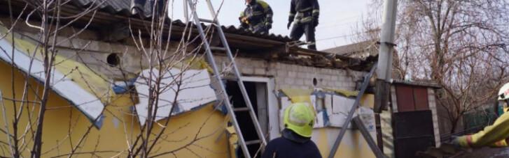 В Запорожье произошел взрыв в жилом доме, есть пострадавшие (ФОТО)