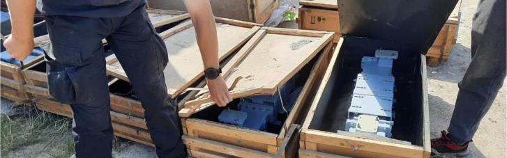 СБУ предотвратила нелегальный вывоз из Украины комплектующих к зенитно-ракетным комплексам