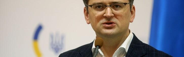 Кулеба призвал Макрона убедить Путина сесть за стол переговоров