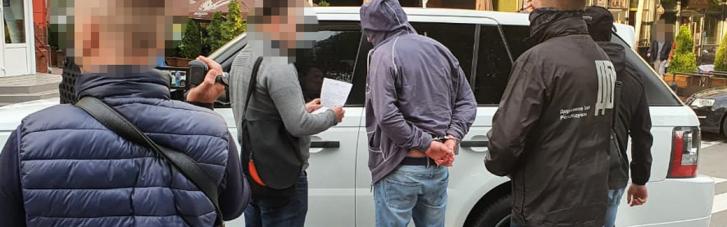 Заместителя главы Черниговской ОГА и его сообщника поймали на взятке в $160 тысяч (ВИДЕО)