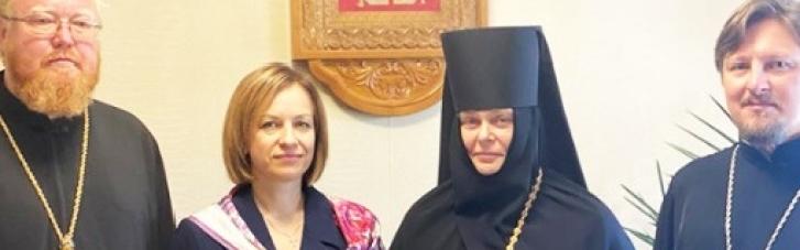 """Лазебная """"засветились"""" вместе с настоятельницей монастыря, которая возит детей в Москву (ВИДЕО)"""