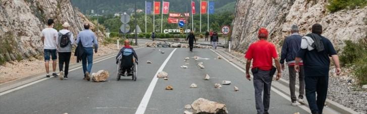 Протесты против митрополита в Черногории: пострадали десятки полицейских